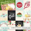 A Taste of Summer: Good Eats Cards