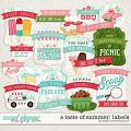 A Taste of Summer: Labels