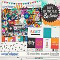 12 Months: August Bundle by Amanda Yi