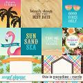 This Is Paradise | Cards by Digital Scrapbook Ingredients
