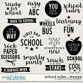 School Rules   Stamps by Digital Scrapbook Ingredients