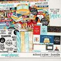School Rules Bundle by Digital Scrapbook Ingredients