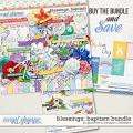 Blessings: Baptism Bundle by Grace Lee and Meagan's Creations