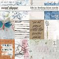 Life Is: Feeling Blue Cards by Studio Basic and Little Butterfly Wings