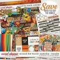 Around the world: Australia - bundle by Amanda Yi & WendyP Designs