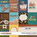 Dino-mania {cards} by Blagovesta Gosheva