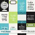 Teacher Life-Cards by Melissa Bennett