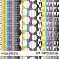 Not Today: Papers by River Rose Designs