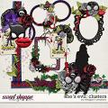 She's Evil: Clusters by Meagan's Creations