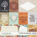 A love so grand - Cards by WendyP Designs