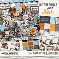 Fall Homestead: Collection Bundle by Meagan's Creations