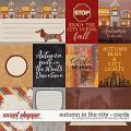 Autumn in the city {cards} by Blagovesta Gosheva & WendyP Designs