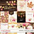 Autumn I love you: Cards by Kristin Cronin-Barrow