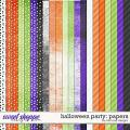 Halloween Party: Papers by River Rose Designs