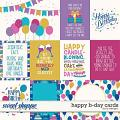 Happy B-day Cards by LJS Designs