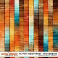 Harvest Happenings | Extra Papers by Digital Scrapbook Ingredients