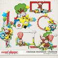 Curious Monkey: Clusters by Meagan's Creations