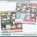 2020 Remember the Magic Calendar Quickpage Bundle by Cindy Schneider and Studio Flergs
