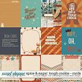 Spice & Sugar: Tough Cookie Cards by Brook Magee, River Rose and Studio Basic