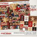 Christmas Memories: Comfy Cozy Bundle by Digital Scrapbook Ingredients
