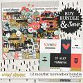 12 Months: November Bundle by Amanda Yi