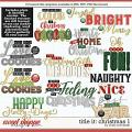 Cindy's Layered Templates - Title It: Christmas 1 by Cindy Schneider