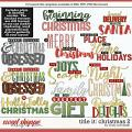 Cindy's Layered Templates - Title It: Christmas 2 by Cindy Schneider