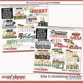 Cindy's Layered Templates - Title It Christmas Bundle by Cindy Schneider