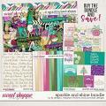 Sparkle and Shine Bundle by LJS Designs, Meghan Mullens, and Ponytails