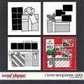 I LOVE TEMPLATES: Gifts by Janet Phillips