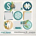 Miscellaneous 28 Template by Digital Scrapbook Ingredients