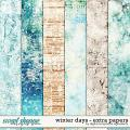 Winter Days | Extra Papers by Digital Scrapbook Ingredients