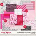 Galentines Patterned Cards by Traci Reed