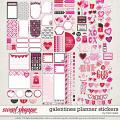 Galentines Planner Stickers by Traci Reed