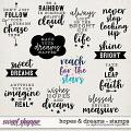 Hopes & Dreams | Stamps by Digital Scrapbook Ingredients