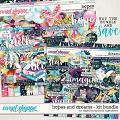 Hopes & Dreams Kit Bundle by Digital Scrapbook Ingredients