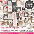 candied crush editable envelopes bundle: Simple Pleasure Designs by Jennifer Fehr