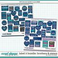 Cindy's Layered Templates - Label It Bundle: Brothers and Sisters by Cindy Schneider