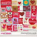 Charmed Love Cards by Clever Monkey Graphics