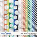 Your Best Life: Papers by River Rose Designs