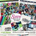 Sticks in action - Mega bundle by WendyP Designs