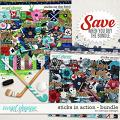 Sticks in actions - Bundle by WendyP Designs