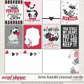 Love Bandit Journal Cards by Traci Reed