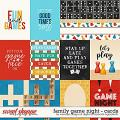 Family game night - Cards by Digital Scrapbook Ingredients & WendyP Designs