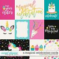 A Magical Celebration: Cards by Grace Lee and Melissa Bennett