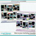 Cindy's Layered Templates - This is Your Birthday Bundle by Cindy Schneider