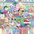 Tea Party Cuties by Clever Monkey Graphics