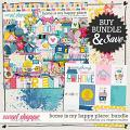 Home Is My Happy Place-Bundle by Amanda Yi Designs & Meghan Mullens