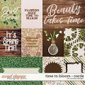 Time to bloom - cards by WendyP Designs