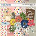 In Bloom: Add On by lliells designs